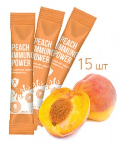 Peach immuno power (15 шт.)