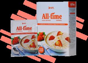 Овсяные каши с инулином серии All-Time: идеальный завтрак на каждый день